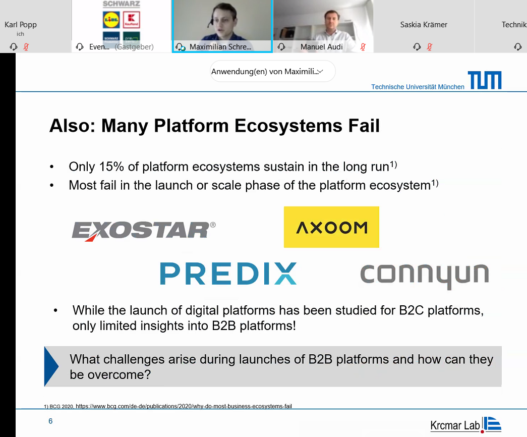 What challenges arise during launches of B2B platforms and how can they be overcome?